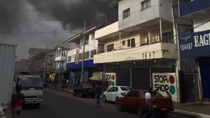 PowerNet Liberia Fire Incident