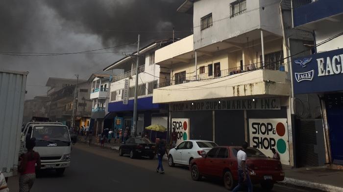 PowerNet Liberia Fire Incident